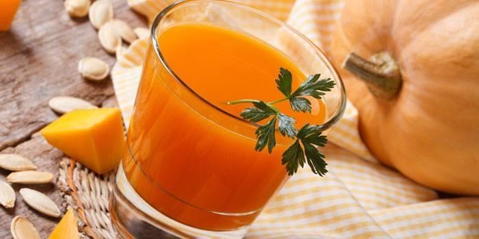 Користь і шкода гарбузового соку для жіночого і чоловічого здоров'я