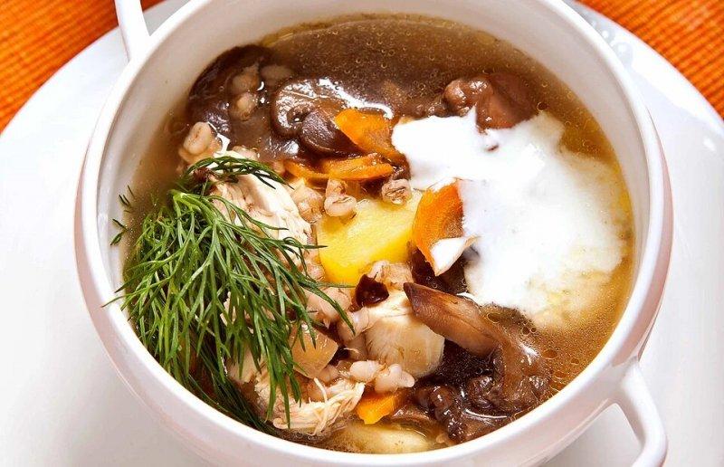 7 рецептів смачного грибного супу з заморожених грибів