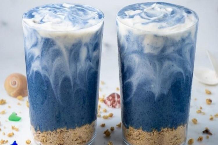 Чим корисний блакитний матчу і як його пити