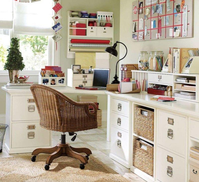 Как оформить рабочий уголок в доме?