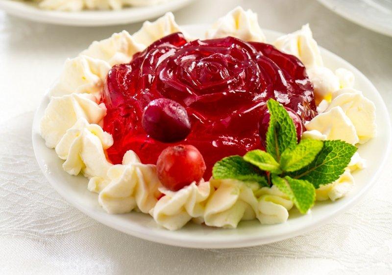 Журавлинний десерт
