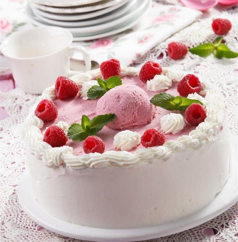 Торт з морозивом